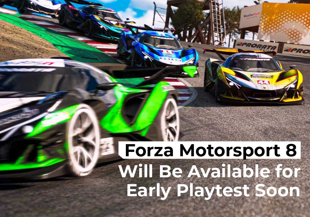 Forza Motorsport 8 Will Be Available for Early Playtest Soon