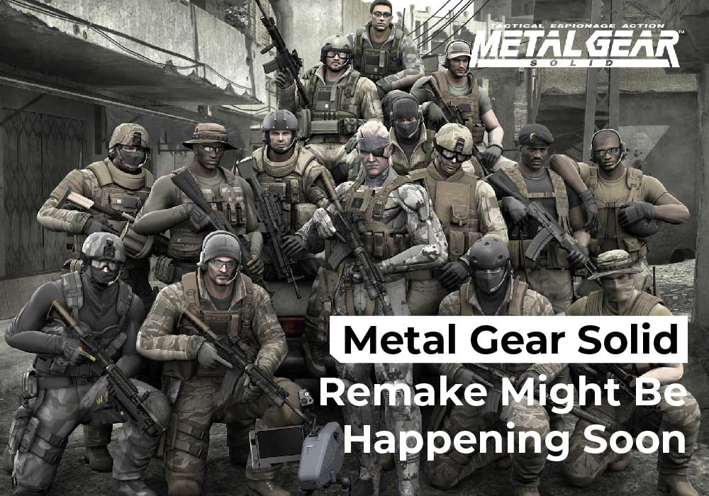 Metal Gear Solid Remake Might Be Happening Soon