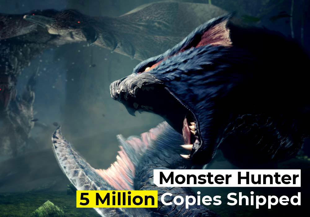 Monster Hunter Rise Has Shipped Over 5 Million Copies Worldwide