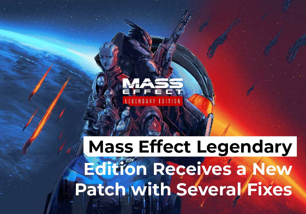 Mass Effect Legendary Edition Receives a New Patch with Several Fixes